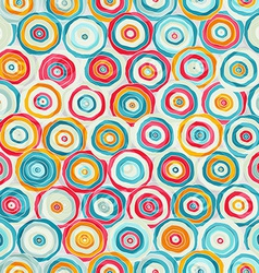 bright abstract psychedelic seamless pattern vector image vector image