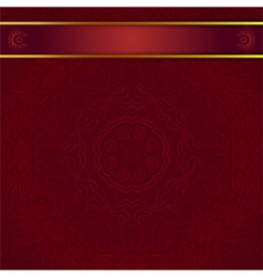 dark red background for invitation vector image vector image