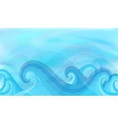 Beautiful blue background vector