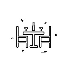 Dinning icon design vector
