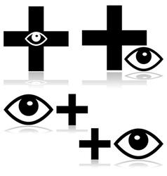 Eye doctor vector