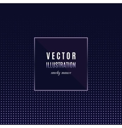 Geometric frame with light effects party flyer vector