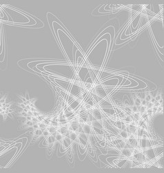gray and white seamless pattern vector image