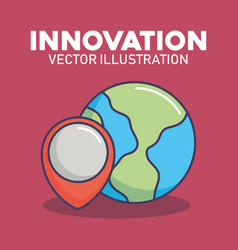 innovation technology image vector image