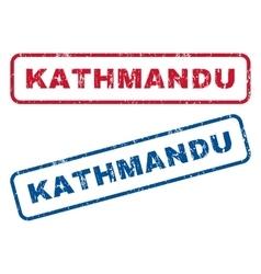 Kathmandu Rubber Stamps vector