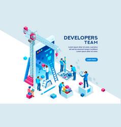 mobile concept clip art vector image