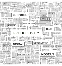PRODUCTIVITY vector