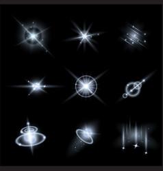 Set light effects vector