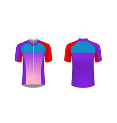 Sportswear design blank vector