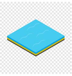 sea isometric icon vector image
