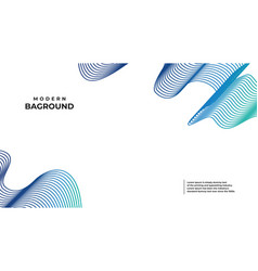 Abstract banner bag round colors and lines in vector