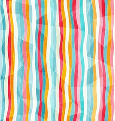 Abstract color lines seamless pattern with paper vector