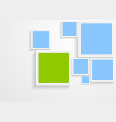 Abstract hi-tech bright design vector