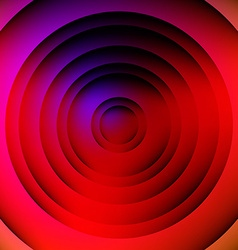 Circular Abstract Geometric Background vector image