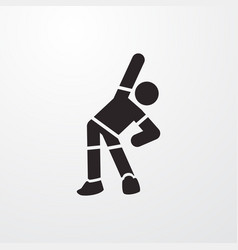 Exercise icon vector