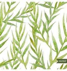 Green leafs vector