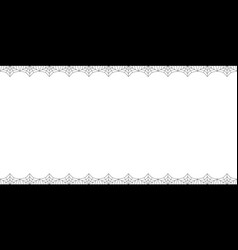 halloween rectangle double up and down spiderweb vector image