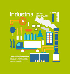 Industrial background design decorative vector