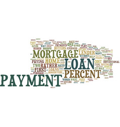 Loans explained text background word cloud concept vector