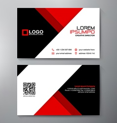 Modern Business card Design vector