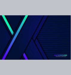 modern dynamic with colorful gradient futuristic vector image