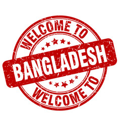 Welcome to bangladesh vector
