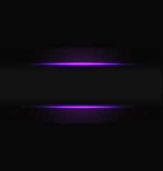 Abstract violet light line grey shadow hexagon vector