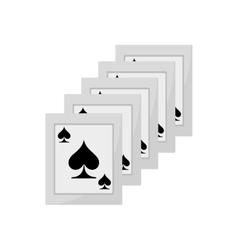 ace spades magician show vector image