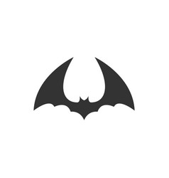 bat animal icon design template isolated vector image