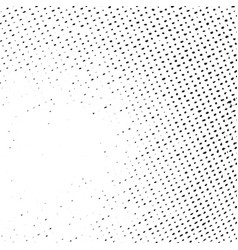 Distress halftone texture vector