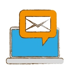Email related icons image vector