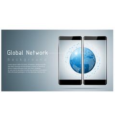 Global network communication and connection vector