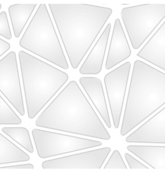 Grey tech background with geometric shapes vector