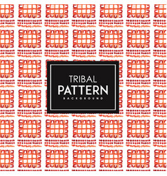 Hand drawn watercolor tribal patterns background vector