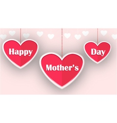 happy mother day for you design vector image vector image