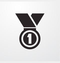 Reward icon vector