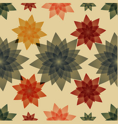 seamless pattern background for pillows vector image