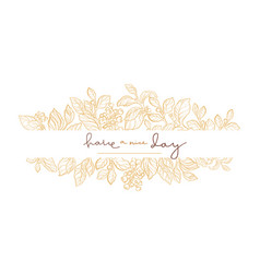 template wedding vector image