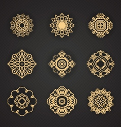 Thai art element for design vector