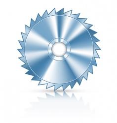 circular saw vector image vector image
