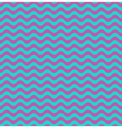 Pink and blue waves seamless background vector image vector image