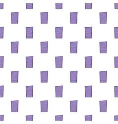 Blinds pattern cartoon style vector