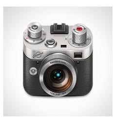 vector retro camera xxl icon vector image