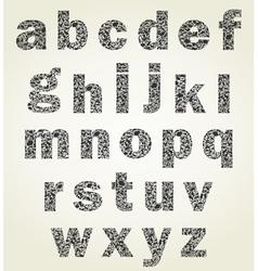 Animal alphabet vector image vector image