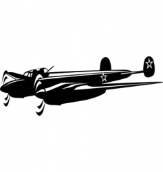 bomber vector image vector image