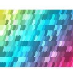 Mosaic background from ellipses vector image
