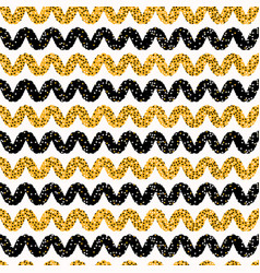 1960s style dot stripes seamless pattern vector image