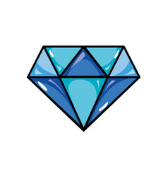 Beauty luxury diamond gen accessory vector