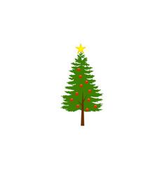 chrismast tree vector image