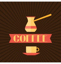 Coffee menu for restaurant cafe bar and vector